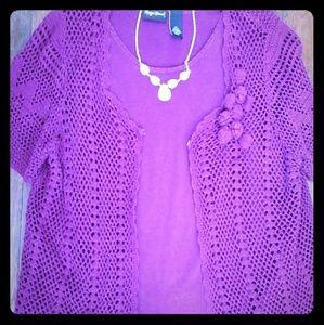 Maggie Barnes layered tunic